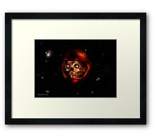 The Watchman of Time Framed Print