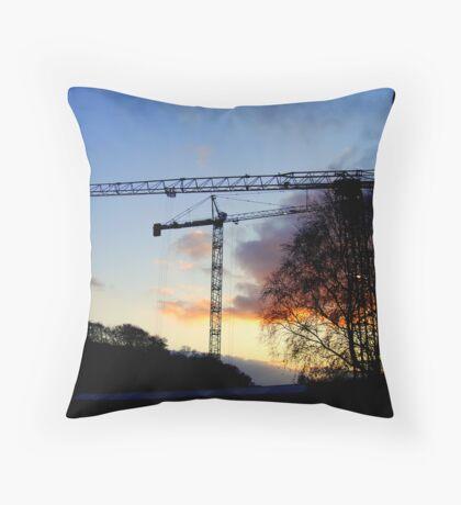 IRISH SKY LINE  1 Throw Pillow