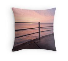 sunrise rail Throw Pillow