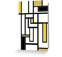 'Modern Vibe 5'  Greeting Card