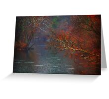 Rainy Day on the James River Greeting Card