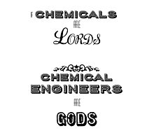 Chemical Engineers Photographic Print