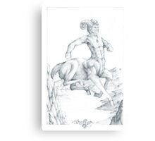 Chiron the Centaur Canvas Print