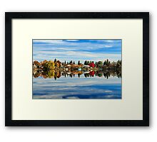 At Home In The Clouds Framed Print