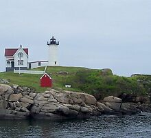 Nubble Light 2 by Tina  Bark