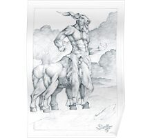 Nessus the Centaur Poster