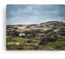 Welsh Farm in the Country Canvas Print