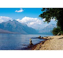 Glacier Lake, Montana Photographic Print