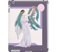 Art Deco Bride iPad Case/Skin
