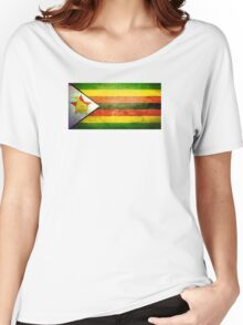Zimbabwe - Vintage Women's Relaxed Fit T-Shirt