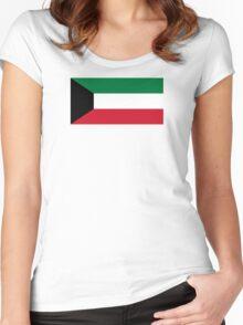 Kuwait - Standard Women's Fitted Scoop T-Shirt