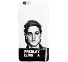 Elvis Mugshot iPhone Case/Skin