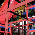 Comic Abstract Indoor Playground by steelwidow
