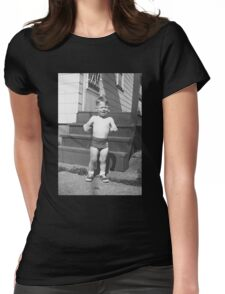 Poor Jonny Womens Fitted T-Shirt