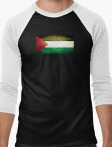 Palestine - Vintage Men's Baseball ¾ T-Shirt