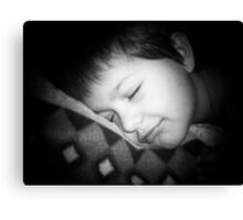 Dreaming of sugar plums Canvas Print