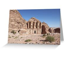 Petra´s Ed-Deir Greeting Card