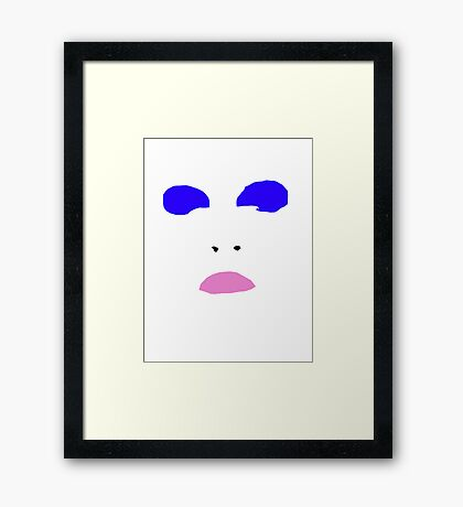 Life On Mars (Minimalistic)  Framed Print