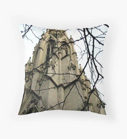 The Forbidden Tower Throw Pillow