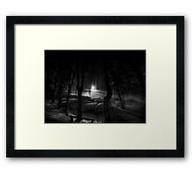 Night of the living dead fishermen Framed Print