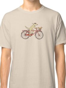 Dog & Squirrel are Friends Classic T-Shirt