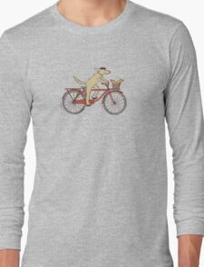 Dog & Squirrel are Friends Long Sleeve T-Shirt