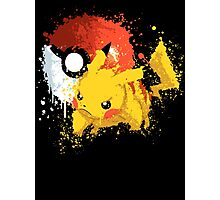 Pika Smash Photographic Print