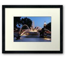 The Plaza Kansas City Mo Framed Print