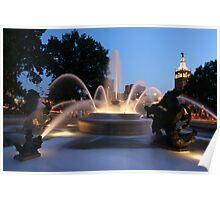 The Plaza Kansas City Mo Poster