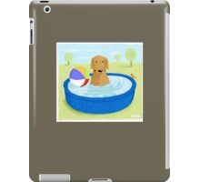 Kiddie Pool Dog iPad Case/Skin