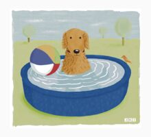 Kiddie Pool Dog Kids Clothes