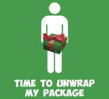 Time to Unwrap My Christmas Package by TheShirtYurt