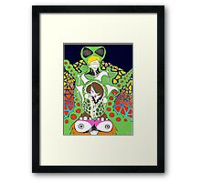 Alien Nation Framed Print
