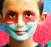Parade Portraits—Young Boy by Michel Godts