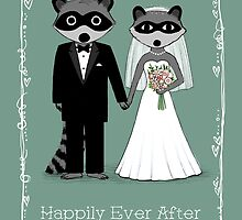 Raccoons Wedding by Jenn Inashvili
