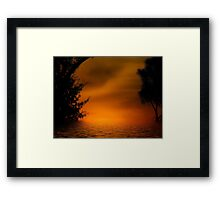 Finding my way back to you Framed Print