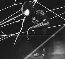 The Amazing Black Suit Spider-Man by Addemdial