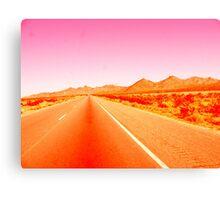 Sunrise Highway Canvas Print