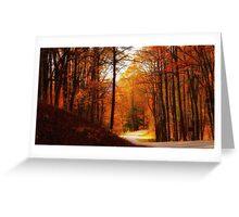 Fall on the Blue Ridge 4~ Greeting Card