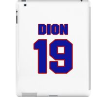 National Hockey player Michel Dion jersey 19 iPad Case/Skin