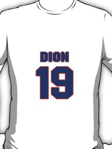 National Hockey player Michel Dion jersey 19 T-Shirt
