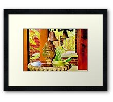 """""""Call To Reflect"""" Framed Print"""