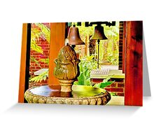 """""""Call To Reflect"""" Greeting Card"""