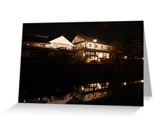 Kurashiki-shi Bikan at Night Greeting Card