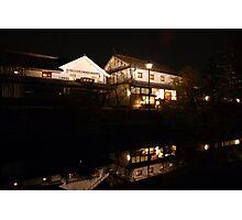 Kurashiki-shi Bikan at Night Photographic Print