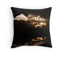 Kurashiki-shi Bikan at Night Throw Pillow