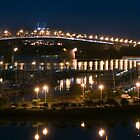 Auckland Harbour Bridge by Chrysler Menchavez-Carlow