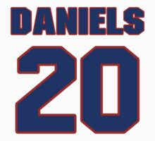 National Hockey player Jeff Daniels jersey 20 by imsport