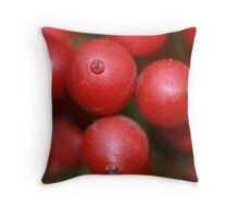 Red Ripe Throw Pillow