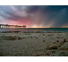 Grange Sunset Photographic Print